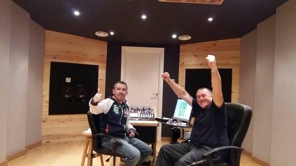 Résidence Gambeat création d'album Ceux d'La Mouff Yves Roussel Mastering